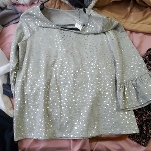 Justice blouse NWT